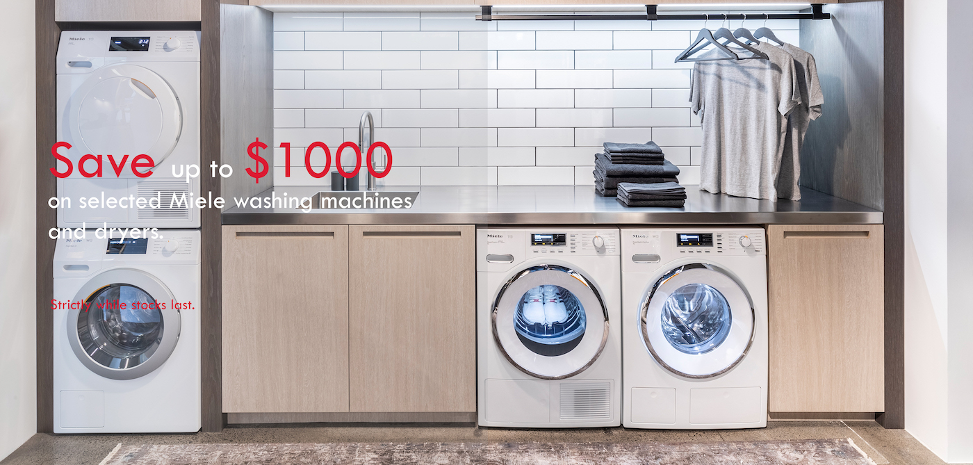 MIELE LAUNDRY RUNOUT MAY